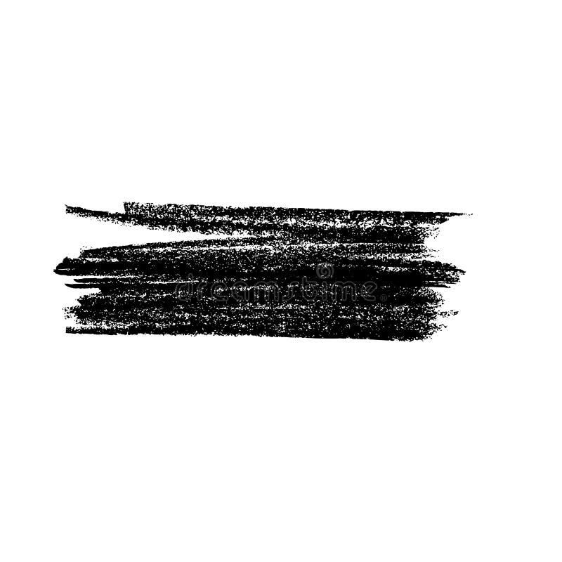 Текстура grunge Crayon Знамя мела grunge карандаша Предпосылка вектора иллюстрация штока