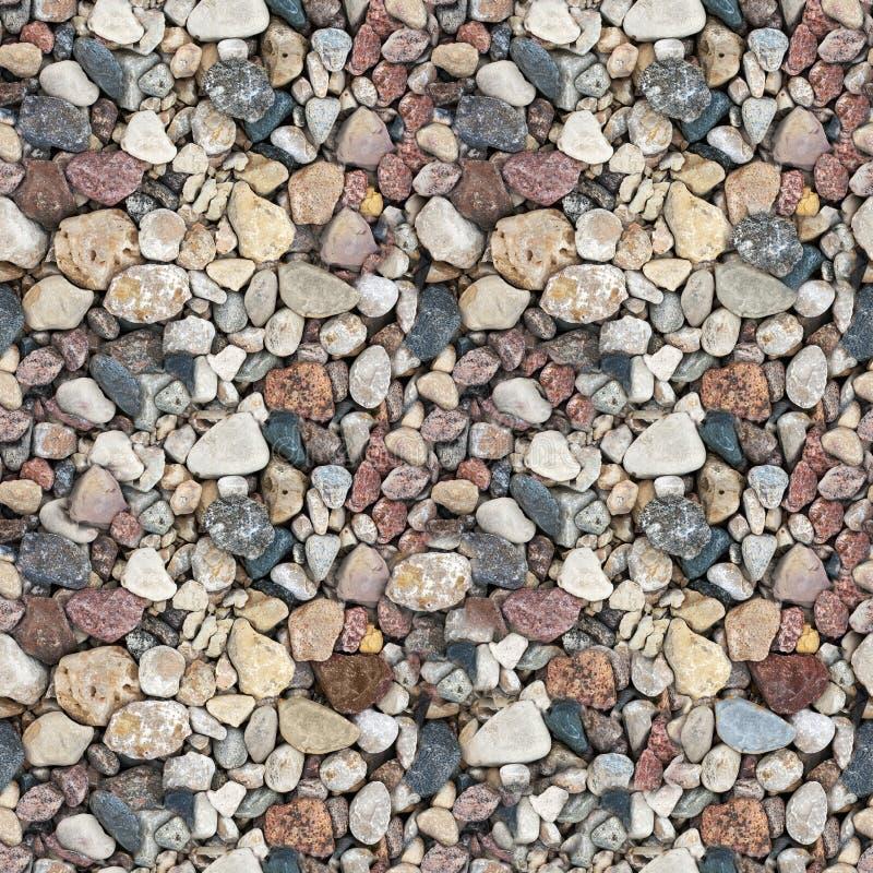 текстура oloured гравием безшовная стоковое изображение rf