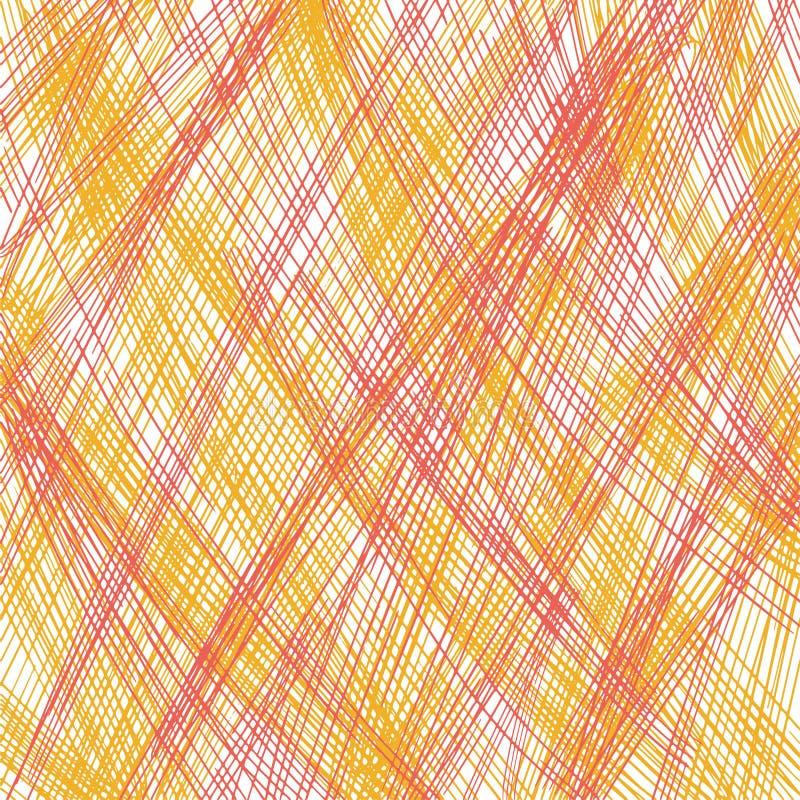 Текстура scribble карандаша Геометрическая простая печать ткани моды Абстрактная концепция предпосылки r Бумажное искусство стоковые изображения