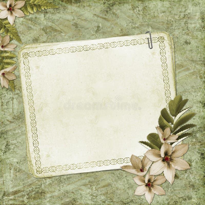 текстурированная бумага примечания предпосылки пустая бесплатная иллюстрация
