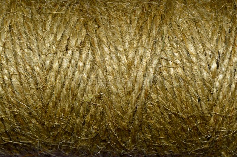 Текстурированная в оболочке веревочка стоковая фотография rf