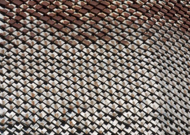 Текстурированная геометрия ржавчины металла Элемент фото дизайна стоковые фото