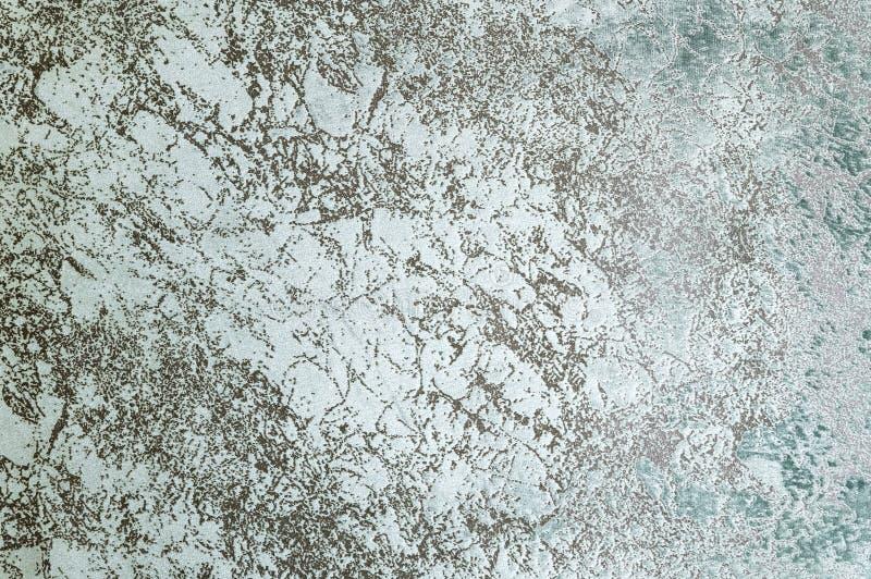 Текстурированная поверхность предпосылки конца-вверх мебели драпирования ткани серая структура ткани голубого цвета стоковое фото rf