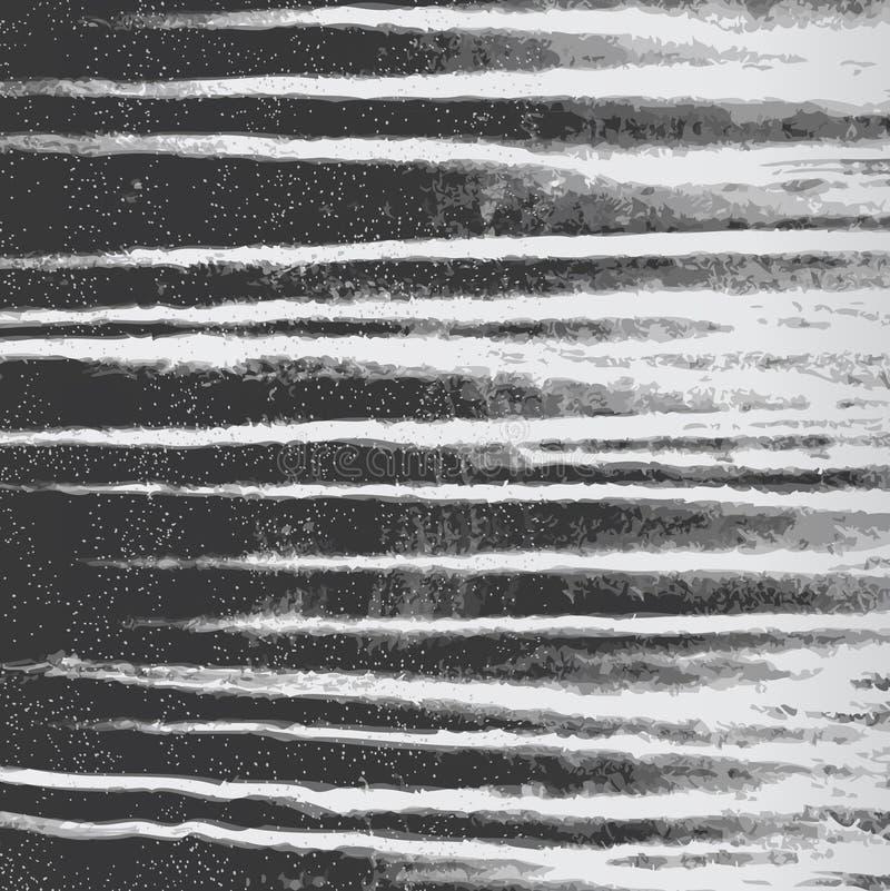 Текстурированная monochrome предпосылка в черно-белом векторе бесплатная иллюстрация