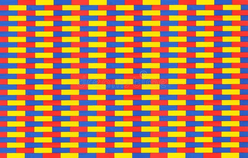 Текстурированные предпосылки, - очень большой абстрактный красочный деревянный ребенок иллюстрация вектора
