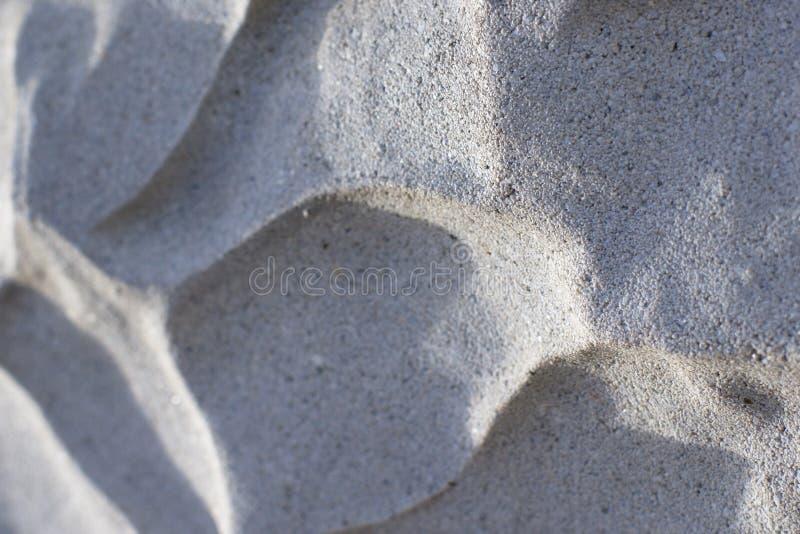 Текстурированные тени отливки стены 3D стоковое фото