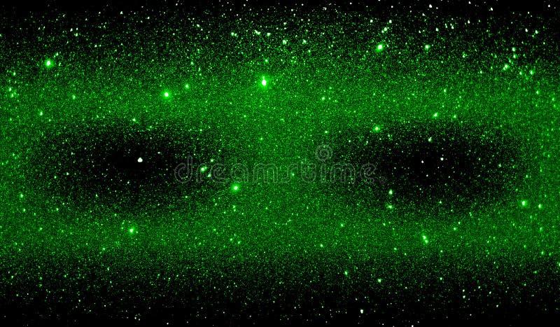 Текстурированные ярким блеском зеленые и черные затеняемые обои предпосылки стоковые изображения rf