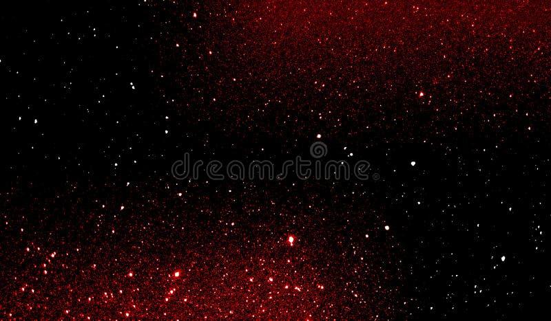 Текстурированные ярким блеском красные и черные затеняемые обои предпосылки стоковые изображения