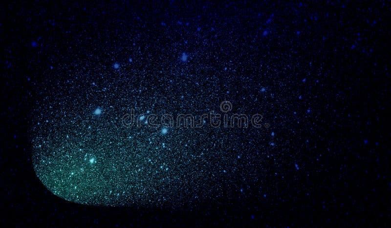 Текстурированные ярким блеском небесно-голубые и черные затеняемые обои предпосылки стоковое изображение