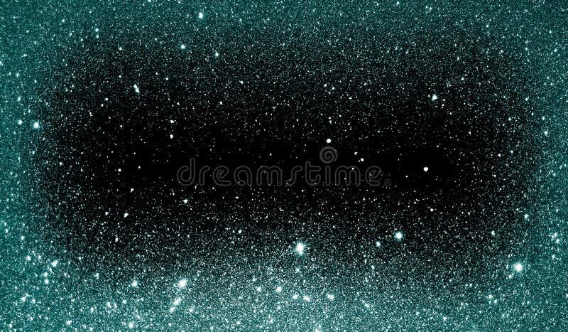 Текстурированные ярким блеском небесно-голубые и черные затеняемые обои предпосылки стоковая фотография rf
