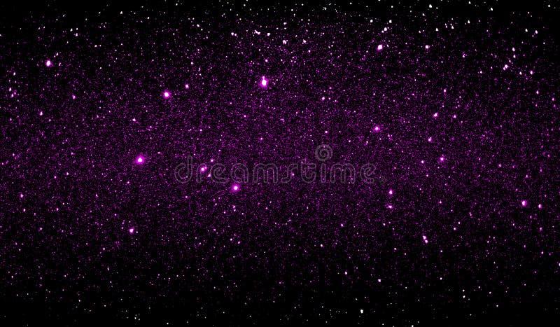 Текстурированные ярким блеском пурпурные и черные затеняемые обои предпосылки стоковое фото