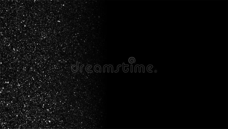 Текстурированные ярким блеском серые и черные затеняемые обои предпосылки стоковое изображение