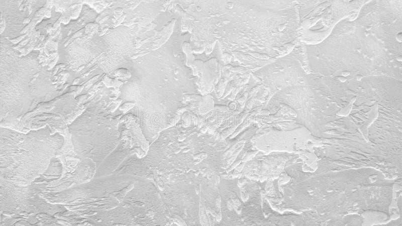 Текстурированный белый грязно-покрытый фон стены стоковые фотографии rf