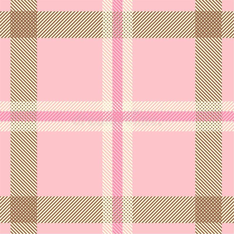 текстурированный tartan шотландки картины иллюстрация вектора