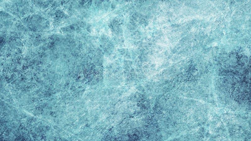 Текстурирует голубой лед Каток зима белизны снежинок предпосылки голубая Надземный взгляд natur иллюстрации иллюстрация вектора