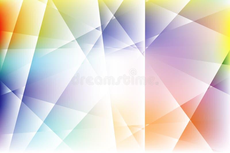 Текстурирует стеклянную абстрактную красочную предпосылку иллюстрация вектора