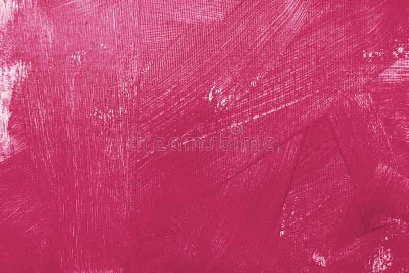Текстурируйте картину маслом, цветки, искусство, покрашенное изображение цвета, краску, обои и предпосылки, холст, художника, имп стоковые фотографии rf