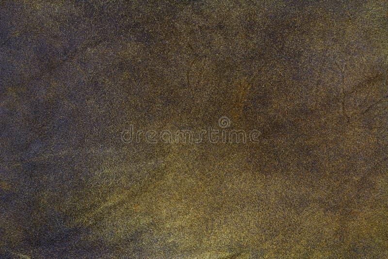 Текстурируйте предпосылку коричневой кожи сделанную кожи козы стоковая фотография