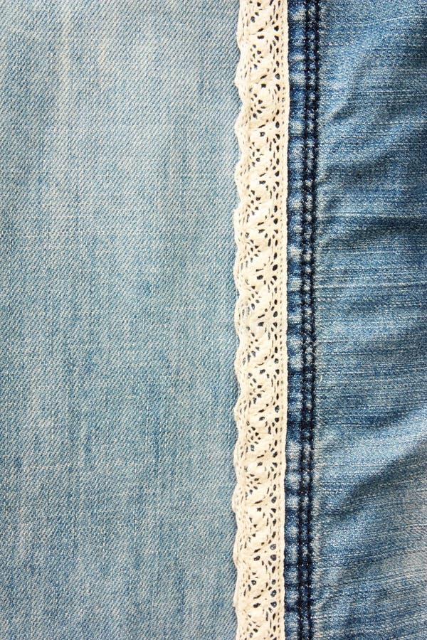 Текстуры джинсовой ткани как предпосылка стоковые фото