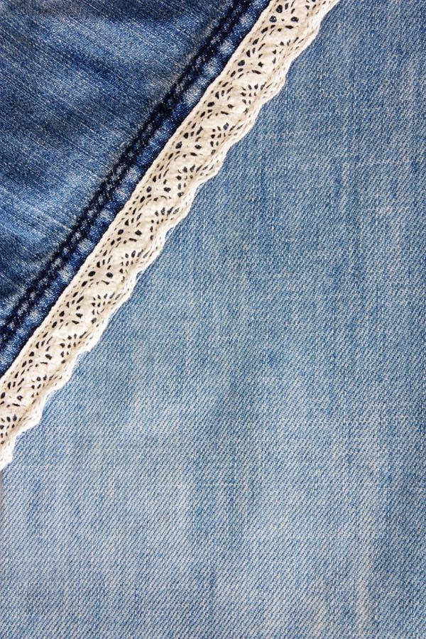 Текстуры джинсовой ткани как предпосылка стоковое фото
