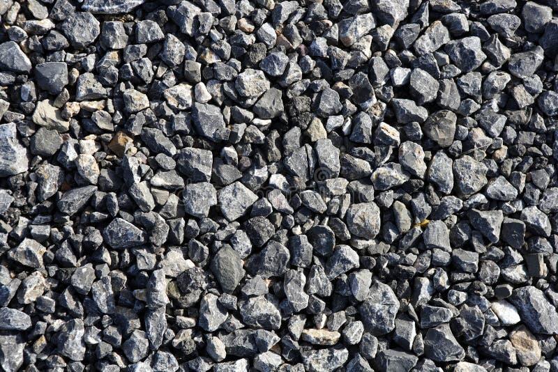 текстуры конкретного гравия асфальта серые каменные стоковая фотография rf