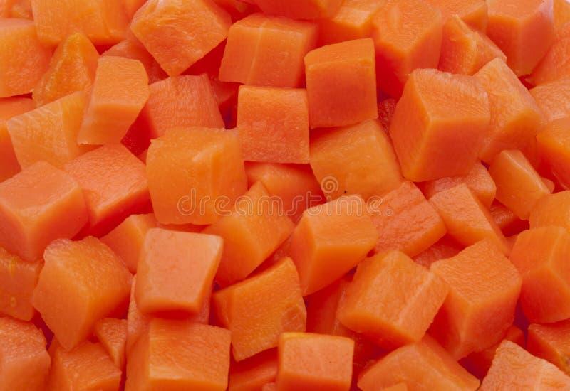 текстуры прерванной моркови в квадратах стоковые изображения rf