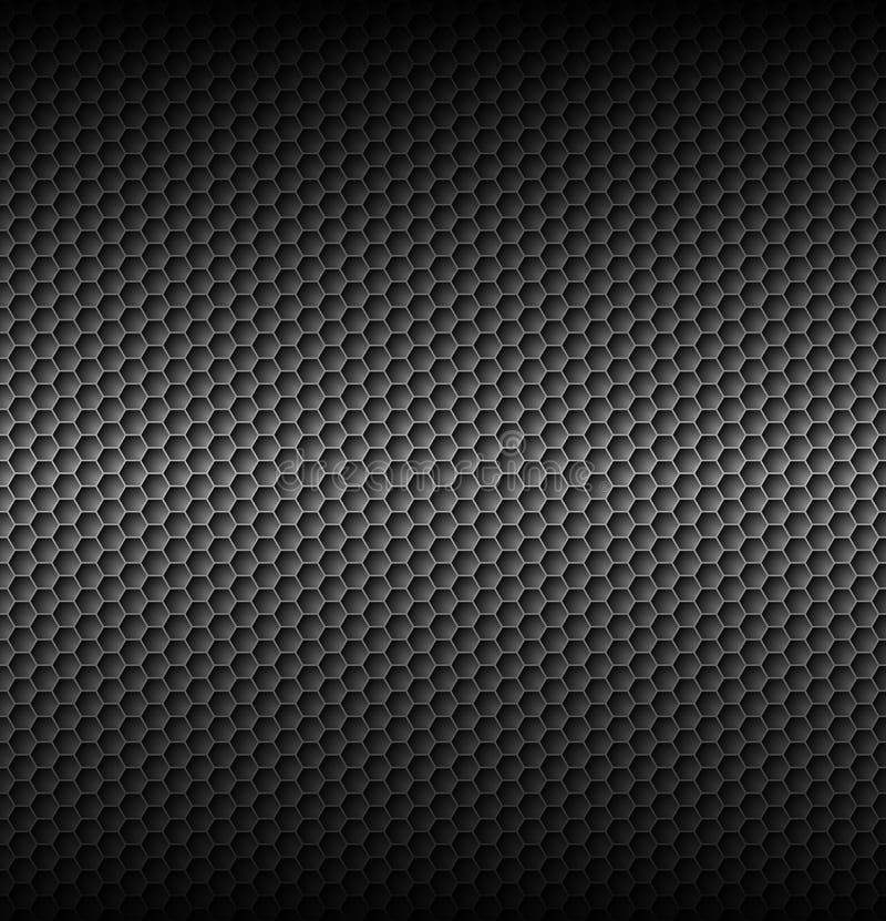Текстуры серого цвета сота иллюстрация штока