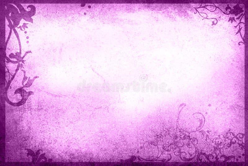 текстуры типа флористической рамки старые бумажные бесплатная иллюстрация