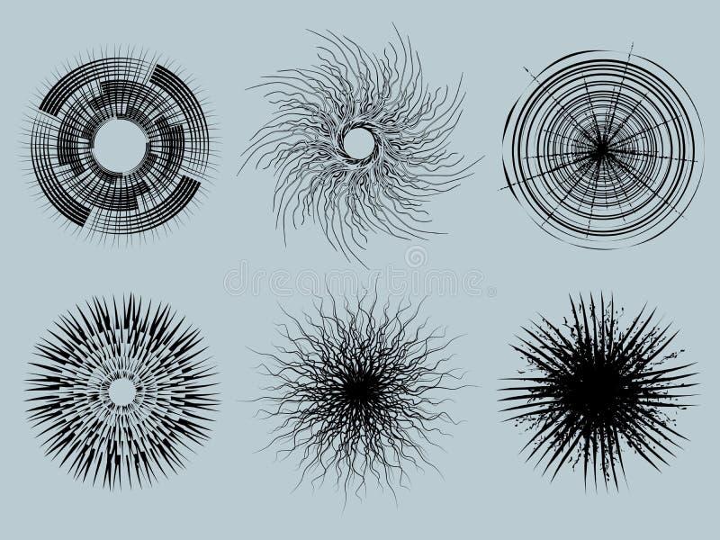 Текстуры чертежа иллюстрация вектора