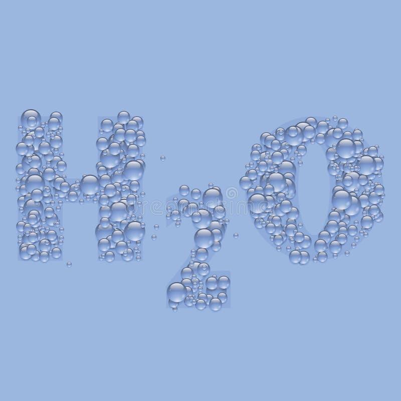 Download Текст воды иллюстрация вектора. иллюстрации насчитывающей лоснисто - 40586403