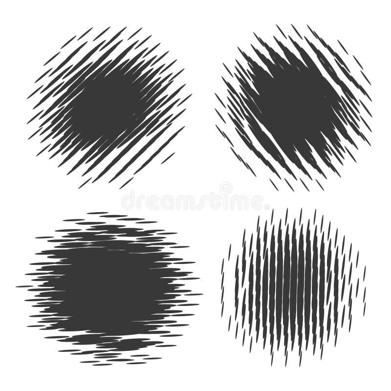 текст космоса иллюстрации halftone grunge текстурирует ваше иллюстрация вектора