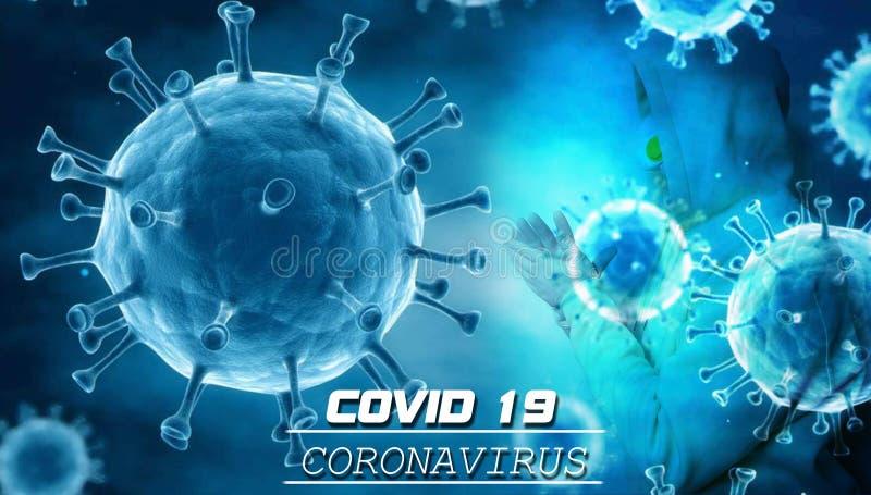 Текст оповещения Coronavirus Covid 19