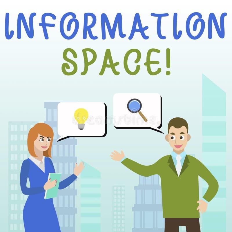 Текст почерка писать информационное пространство Место смысла концепции особенно вебсайт где информация доступна бесплатная иллюстрация