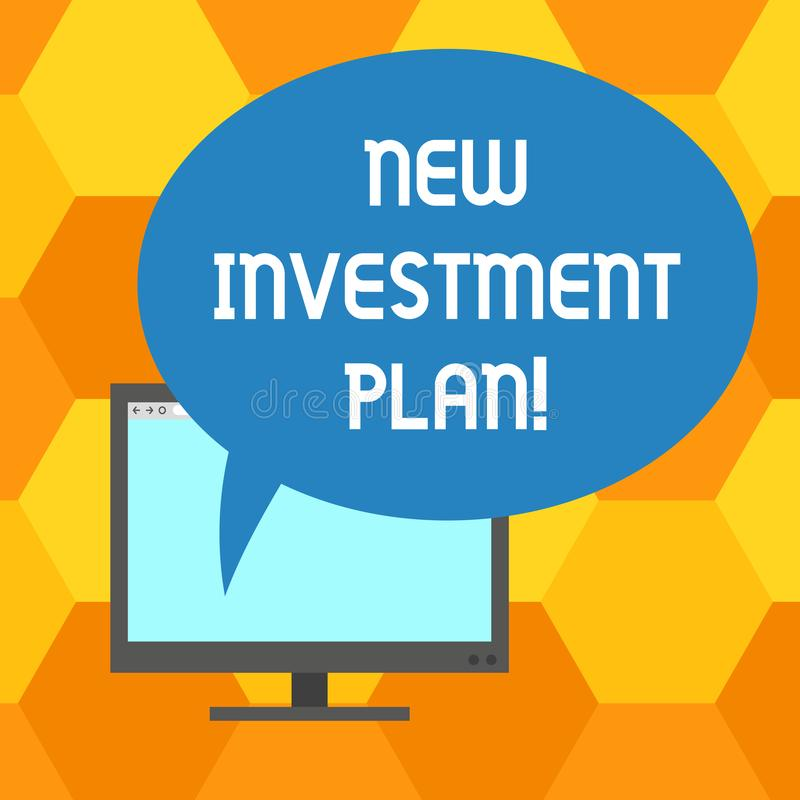 Текст почерка писать новый план капиталовложений Концепция знача инвесторов делает регулярные равные оплаты в инвесторскую компан бесплатная иллюстрация