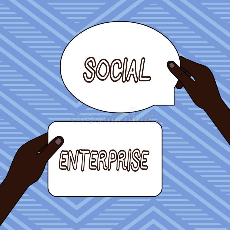 Текст почерка писать социальное предприятие Дело смысла концепции которое зарабатывает деньги в социально ответственном пути 2 иллюстрация штока