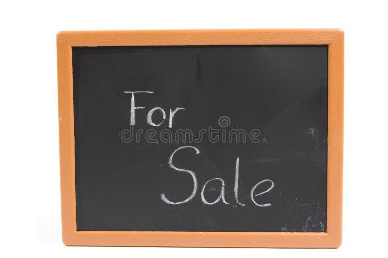 текст сбывания chalkboard стоковая фотография