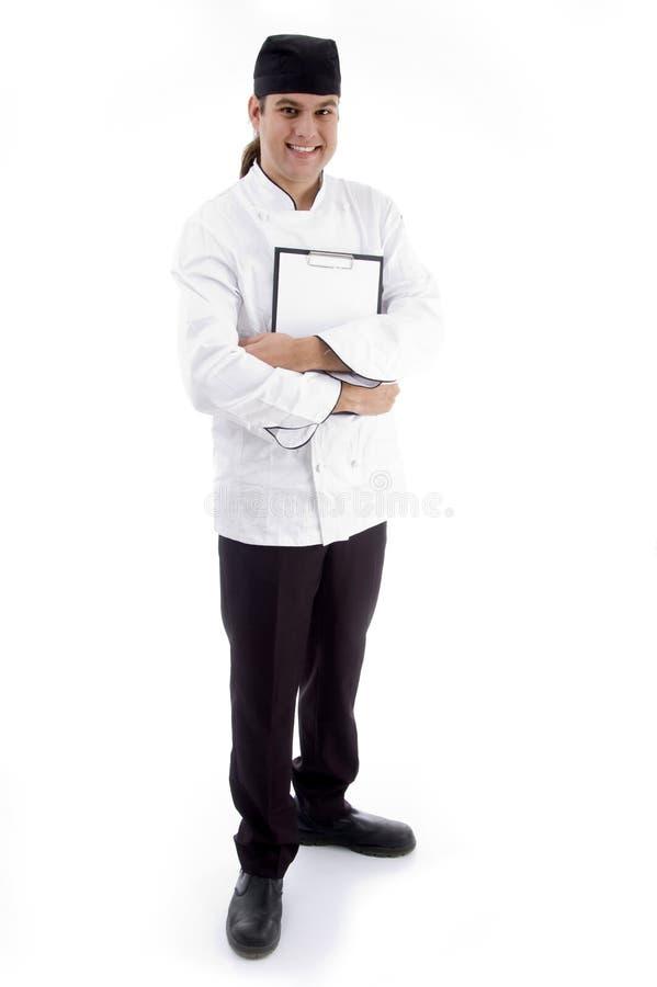 тела шеф-повара представление польностью красивое стоковое фото