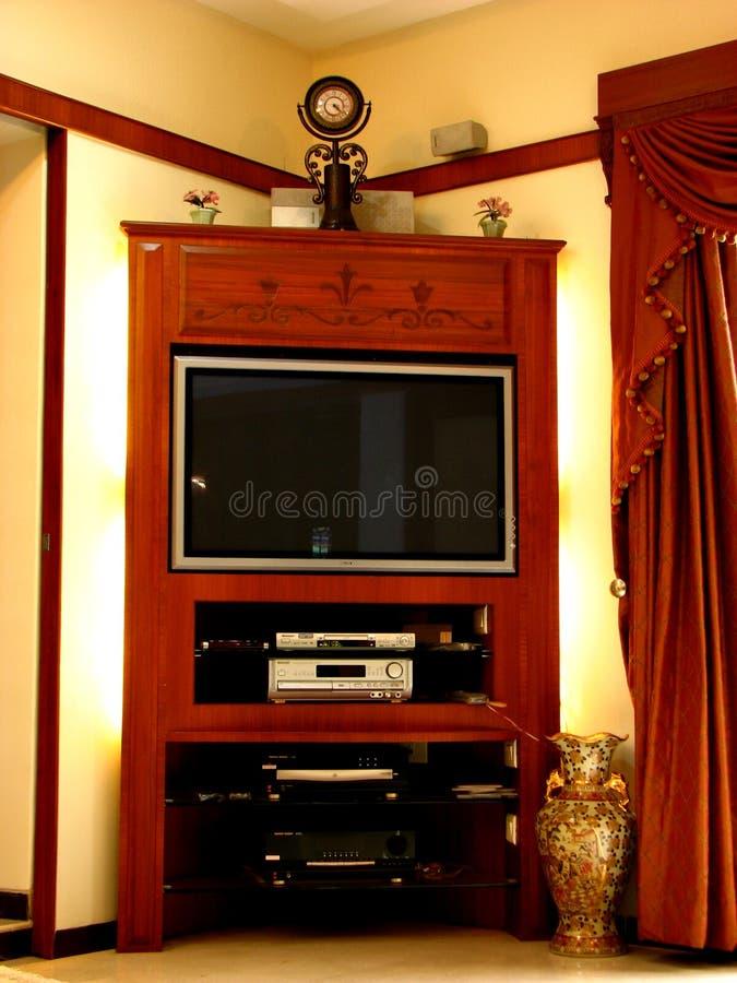 телевидение мебели стоковые фото