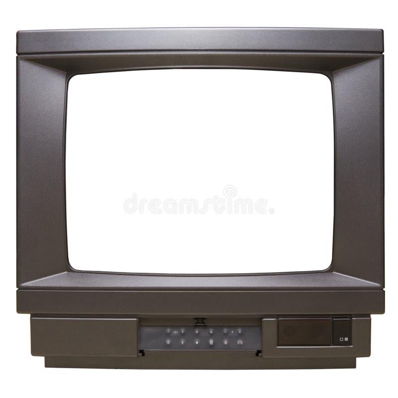 телевидение экрана стоковое изображение