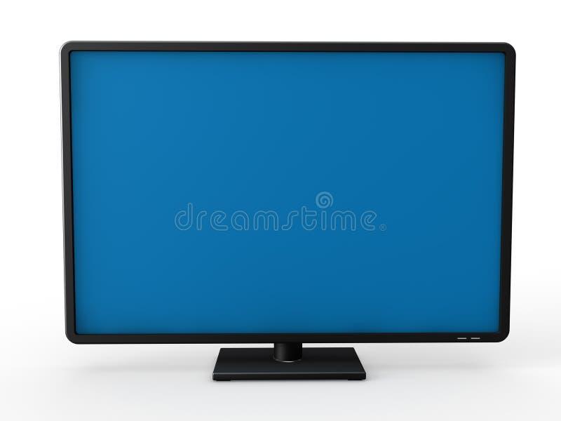 телевидение 3d lcd бесплатная иллюстрация