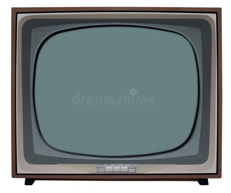 телевидение bw стоковое изображение