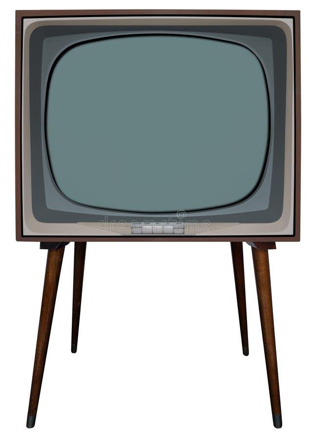 телевидение bw стоковая фотография rf