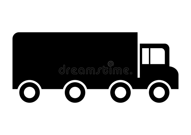 тележка грузовика стоковое изображение rf