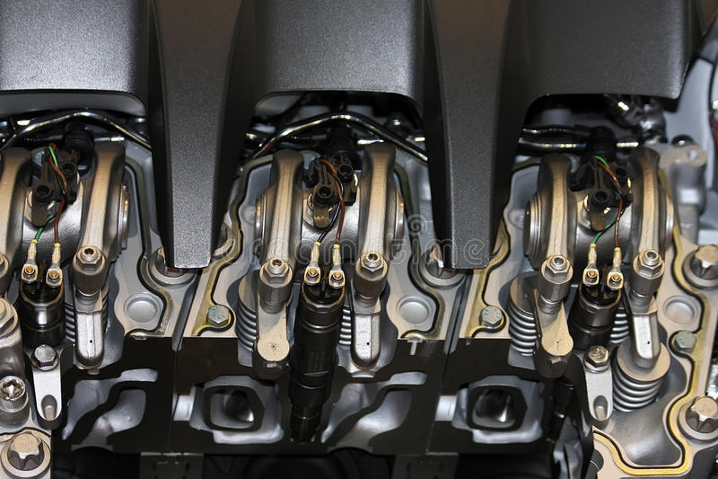 тележка двигателя стоковое фото rf