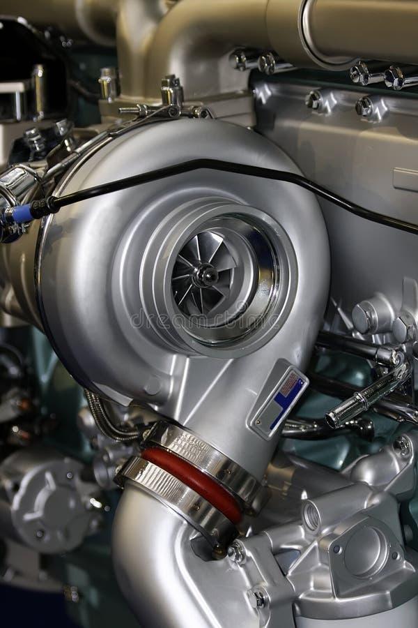 тележка двигателя стоковое фото