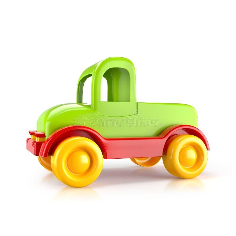 Тележка игрушки автомобиля иллюстрация штока