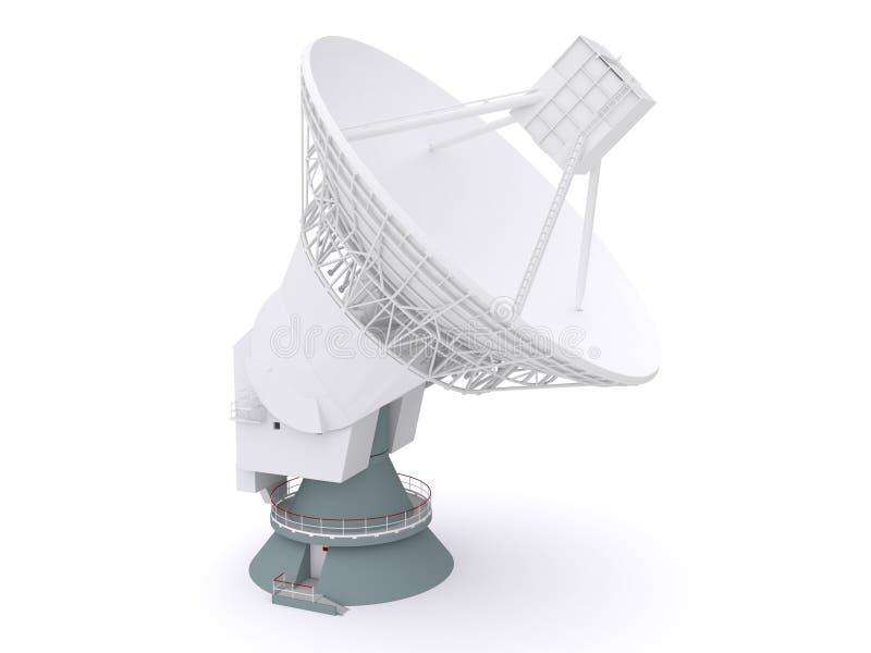 телескоп радио иллюстрация штока
