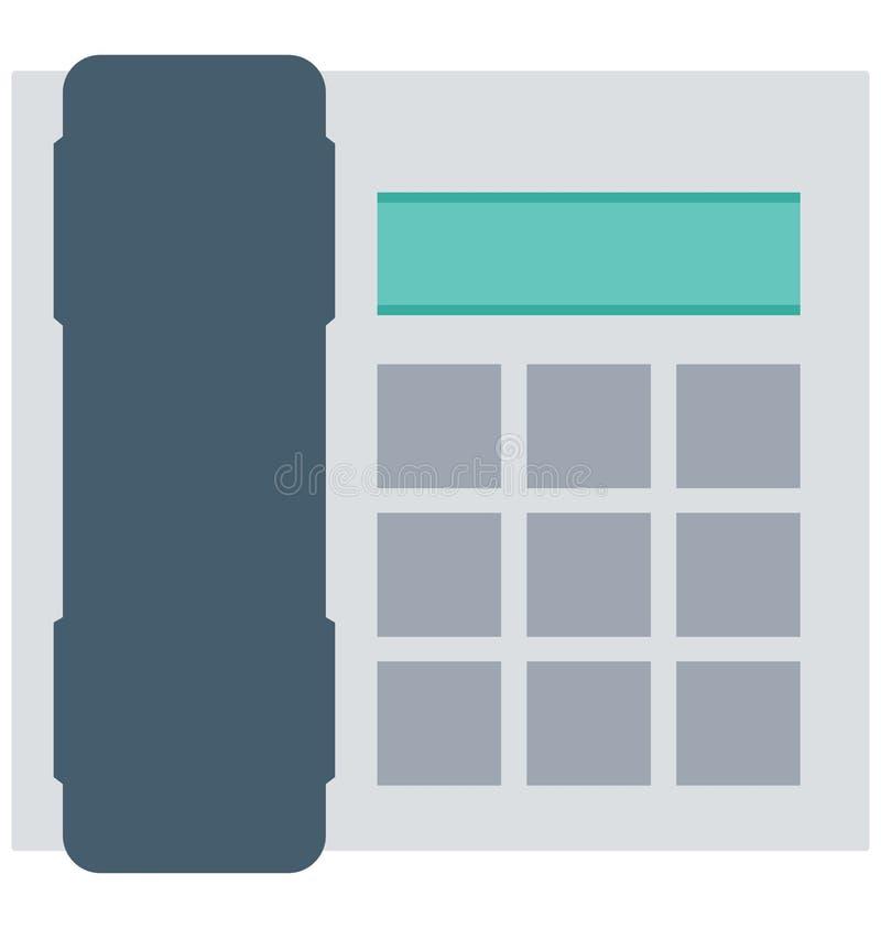 Телефонируйте, изолированные телефоном значки вектора смогите быть доработайте с любым стилем иллюстрация вектора