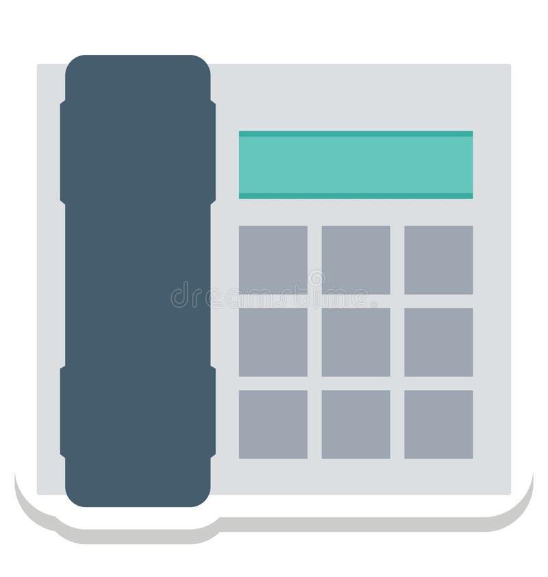 Телефонируйте, изолированные телефоном значки вектора смогите быть доработайте с любым стилем бесплатная иллюстрация