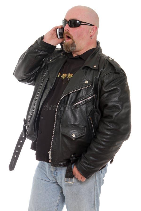 Телефонный звонок сярприза стоковое изображение
